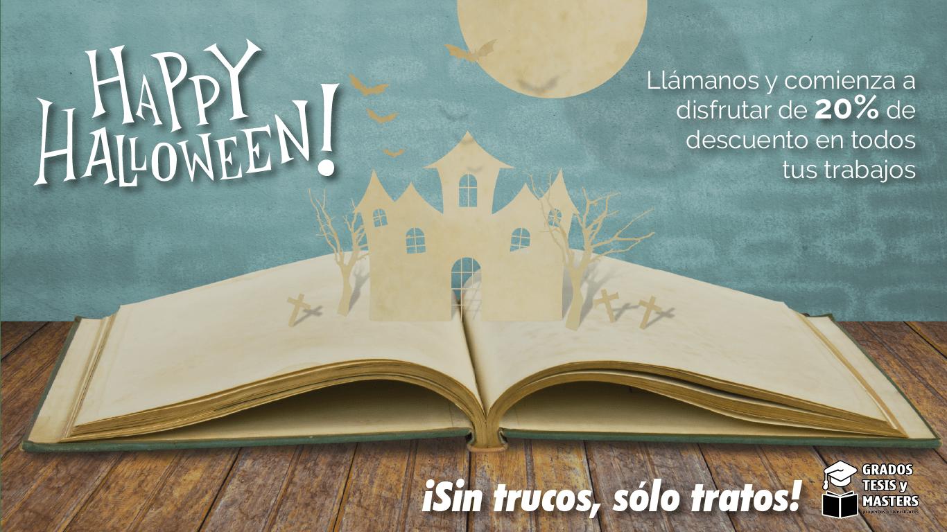 Halloween ha llegado a Grados, Tesis y Másters 1